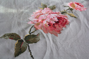 Tablecloth - hand embroidery - new