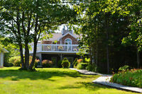 Your DREAM LAKEFRONT HOME in Porters Lake w Lots of Privacy