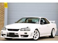 NISSAN SKYLINE SUPER HIGH SPEC FULLY FORGED BUILD 600 BHP CAPABLE ANTI LAG LAUNC