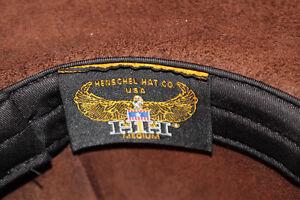 BEAUTIFUL BROWN LEATHER COWBOY HAT. NEW!! VALUE OF $200.00 Gatineau Ottawa / Gatineau Area image 4