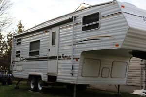 25' Bonair 5th wheel travel trailer