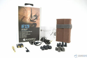 Audiofly AF120 Hybrid Dual-Driver In-Ear Monitors