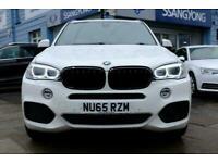 2015 65 BMW X5 3.0 XDRIVE30D M SPORT 5D 255 BHP DIESEL
