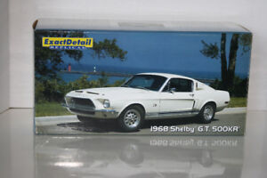 Lane Exact Detail 1968 Shelby Mustang GT500KR Die Cast Car 1/18