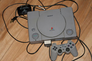 Playstation 1 & Controller & Memory Card