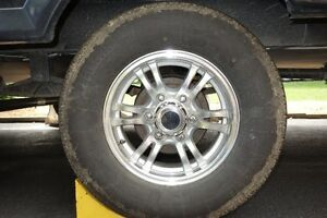 TRAILER TIRES WITH ALUMINIUM RIMS