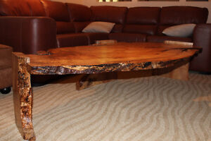 Custom Wood Coffee Table