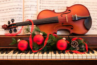 Live Festive Christmas Party Music -Book the Orca String Quartet