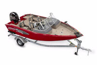 2016 Princecraft Xpedition 170 WS Fishing boat.