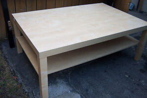 Washed Oak Coffee Table