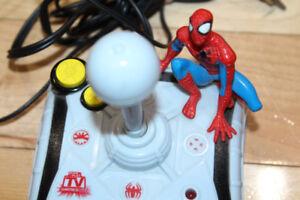 Vintage Spiderman Marvel Plug and Play Game