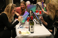 Book Your Own Paint Party - We Travel to You!