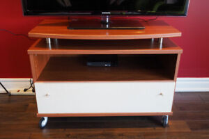 Neoset TV Table/Storage + large drawer on Wheels - PRICE REDUCED