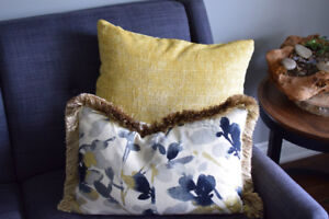 Custom Draperies, Cushions, Bedding, Upholstery, Blinds and more