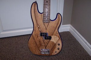Upgraded Squire bass