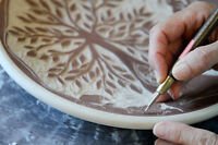 Pottery Workshop - Decorate a Plate - Saturday March 25th
