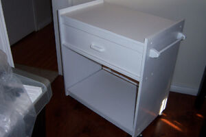 Kitchen Cart with 1 drawer