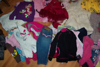 many many baby boy and girl clothes, toys and stuff!