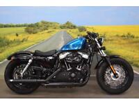 Harley Davidson XL 1200 X Forty Eight 15 **Vince and Hines Exhaust, Optimate**