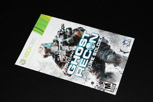XBOX 360-GHOST RECON FUTURE SOLDIER-MANUAL (COMPLETE YOUR GAME)