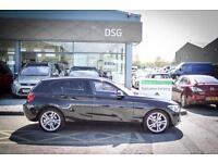 2014 14 BMW 1 SERIES 120d Sport 5dr in Black