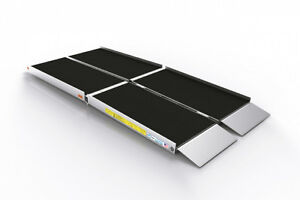 aluminum folding ramp 5 to 8 ft.
