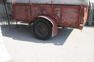 All Metal Utility Trailer for Sale