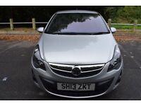 Vauxhall Corsa 1.2I VVT A/C SXI - 6 MONTH WARRANTY (silver) 2013