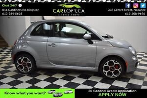 2016 Fiat 500 SPORT- LEATHER*BLUETOOTH*CRUISE
