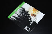 XBOX ONE-DYING LIGHT-MANUAL ONLY (COMPLETE YOUR GAME)