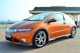 Honda Civic 2.2i-CTDi Type S GT, 51K MILES, FULL S/HISTORY, FEB MOT, AA WARRANTY