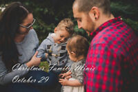 Outdoor Family Christmas Mini Sessions
