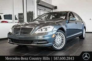 2011 Mercedes Benz S550V4M 4MATIC Sedan