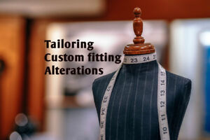 Dressmaker, seamstress, alterations' services