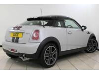 2013 63 MINI COUPE 1.6 COOPER CHILI PACK 2DR 120 BHP