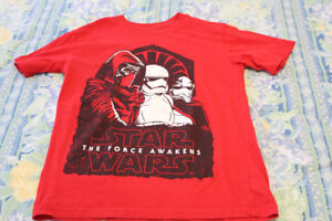 Star Wars shirts - size 7/8 (medium)