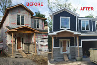 Wood Siding installation -BOOK NOW before winter!