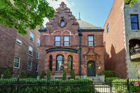 Magnificent pied-a-terre in the McGill ghetto,