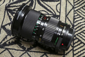 Canon FD 35-105mm f/3.5 Zoom Macro 2-Touch Lens (Manual Focus)