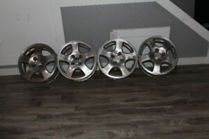 "Set of GSR Fat Five 15""  Rims"