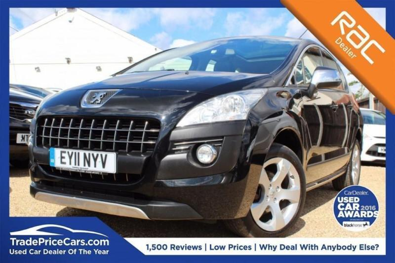 2017 11 Peugeot 3008 1 6 Exclusive Hdi 5d Auto 112 Bhp Sel