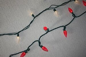 Outdoor LED christmas string lights