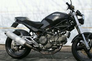 1999 Ducati monster 750  Italian motorcycle