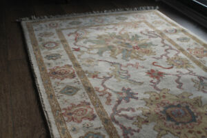 Luxurious Rug SultanAbad Hand-knotted Pure Egyptian Wool 5' x 3'