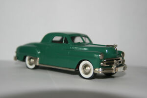 Brooklin 1950 Dodge Club Coupe Diecast Die Cast Car 1/43