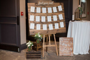 Rustic/Wooden Seating Chart
