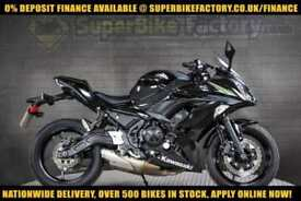 2017 17 KAWASAKI ER-6F KHF 650CC 0% DEPOSIT FINANCE AVAILABLE