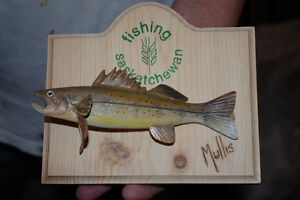 Christmas gifts for the fisherman (Hand carved fish) Regina Regina Area image 9