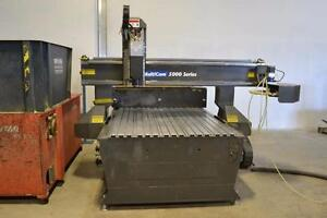 Multicam 5000 Series CNC Router 220V/380V, 50/60HZ 3PH