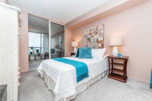 Spacious & Immaculate Raleigh Model Condo With 2 + Den In Tridel